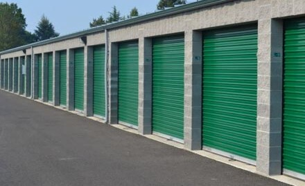 We have drive-up access in well-lit &  wide drive alleys